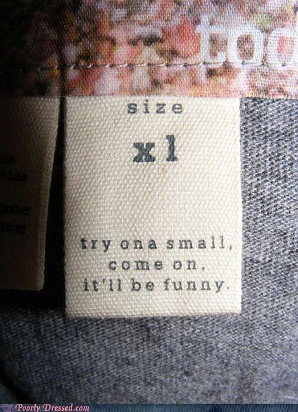 fat size small tag xl - 6192113920