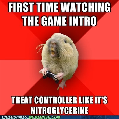controller gaming gopher intro meme - 6192145920