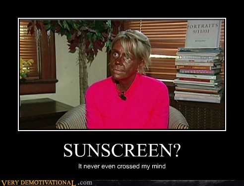 eww gross skin sunscreen Terrifying - 6192205824