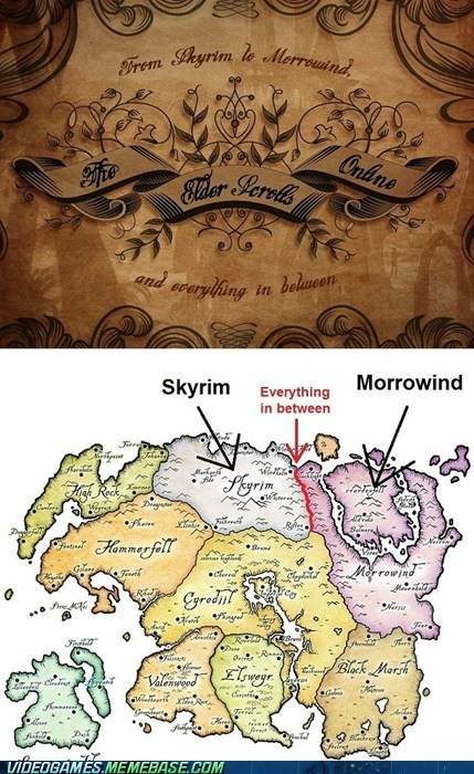 elder scrolls MMO morrowind Skyrim tamriel the feels - 6192274944
