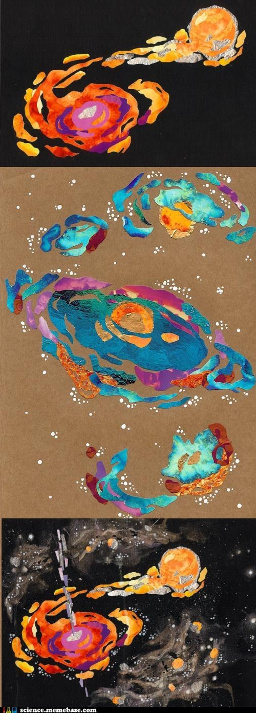 galaxy quilting science space - 6192356608