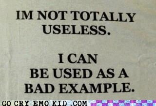 best of week,emo,emolulz,example,motto,useless
