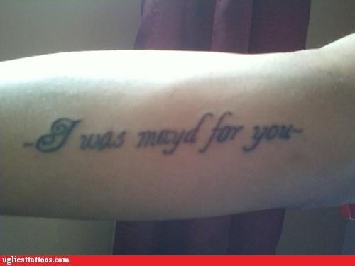 expression misspelled tattoos motto - 6192384256