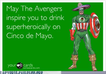 Black Widow captain america captain mexico cinco de mayo hawkeye hulk iron man Nick Fury The Avengers Thor - 6192393216