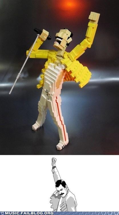 freddie mercury lego legos queen - 6192621568