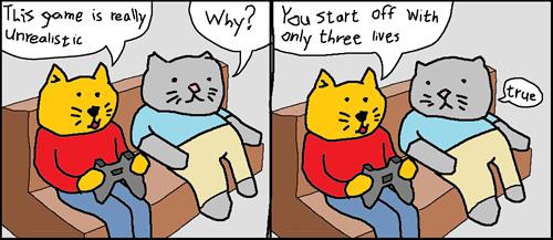 gamer list gifs video games Cats - 619269
