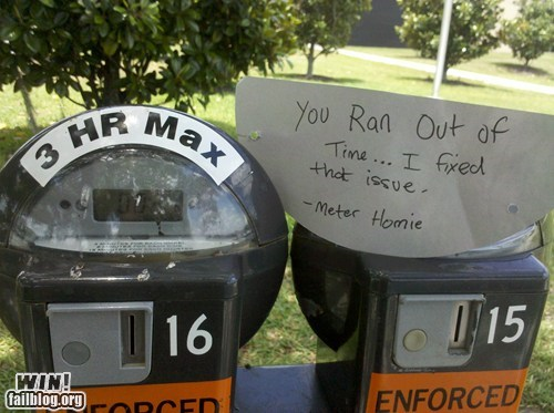 hero meter parking Random Acts Of Kindness - 6192715520