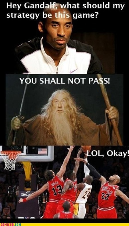 basketball best of week coach Lord of the Rings sports TV you shall not pass