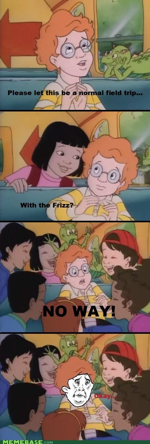 arnold magic school bus no way Miss Frizzle Okay - 6193179392