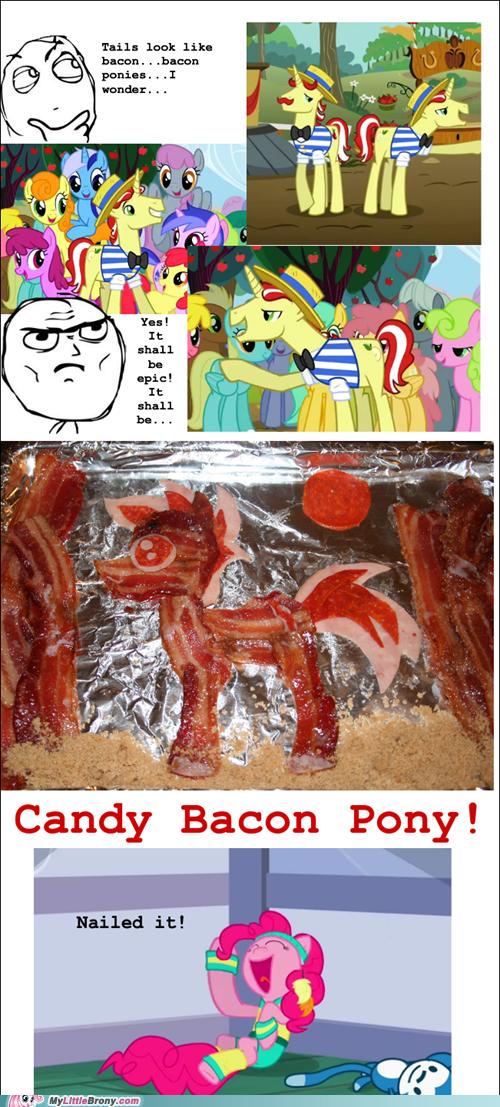 bacon,flim flam,IRL,pinkie pie,ponies