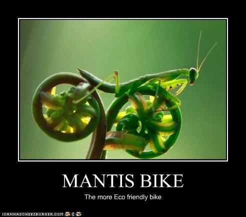 MANTIS BIKE The more Eco friendly bike