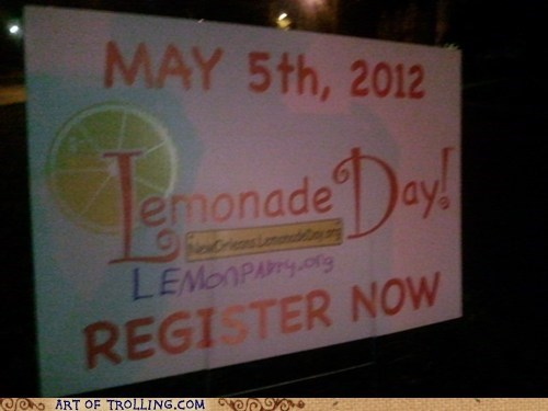 IRL,lemon party,lemonade day,shock sites