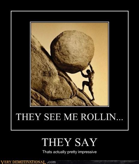 hilarious push rock rolling sisyphus - 6194126336