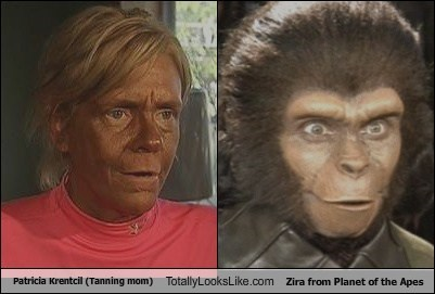 funny Movie patricia krentcil Planet of the Apes tanning mom TLL zira