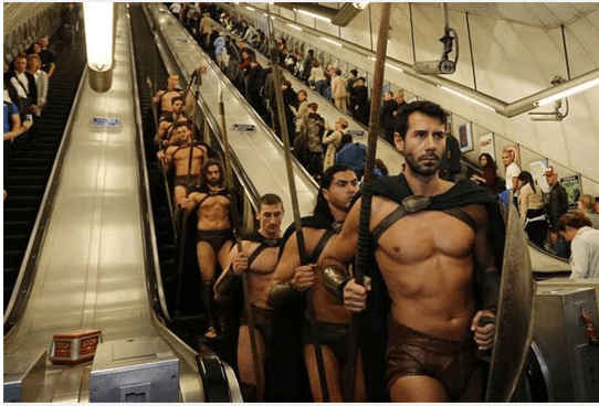 Marketing Campaign marketing London 300 Subway brilliant cosplays - 6194949