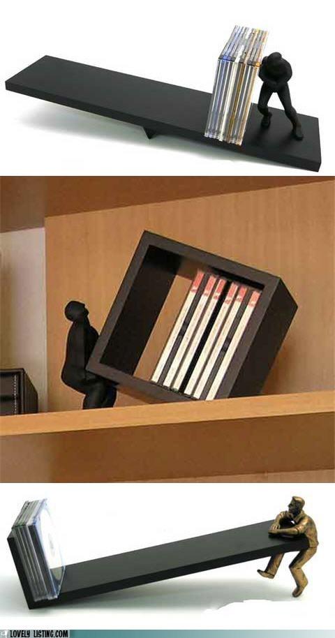 men sculpture shelves - 6195267840