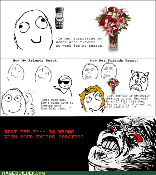 flowers,men,raisin rage,relationships,women