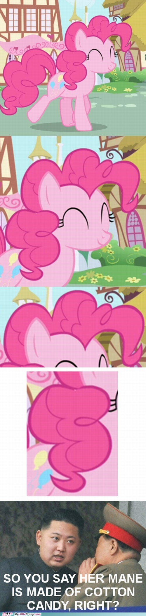 comic comics cotton candy kim jung-un meme pinkie pie - 6195864064
