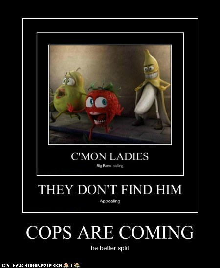 COPS ARE COMING