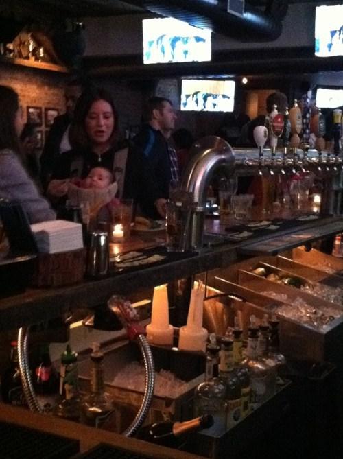 baby,bar,mom at bar