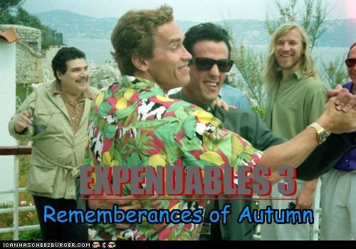 actor Arnold Schwarzenegger celeb funny Sylvester Stallone - 6196528128