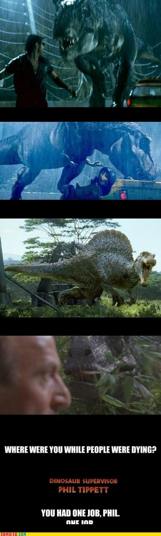 best of week dinosaur drop job jurassic park Movie phil the internets