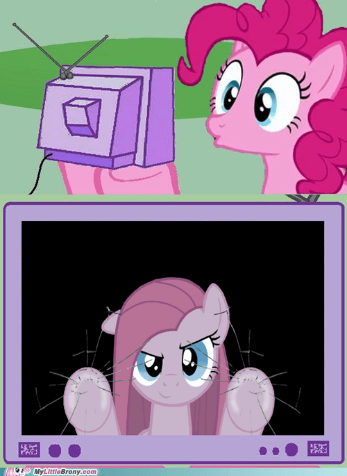 borked forever fourth wall meme pinkie pie - 6196793856