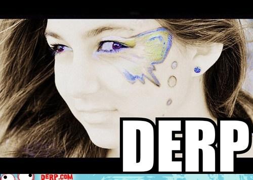 derp facepaint shopped pixels - 6197050112