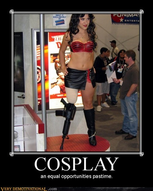 cosplay,equal opportunities,hilarious,pastime