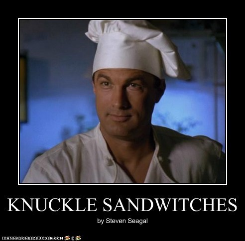 KNUCKLE SANDWITCHES by Steven Seagal