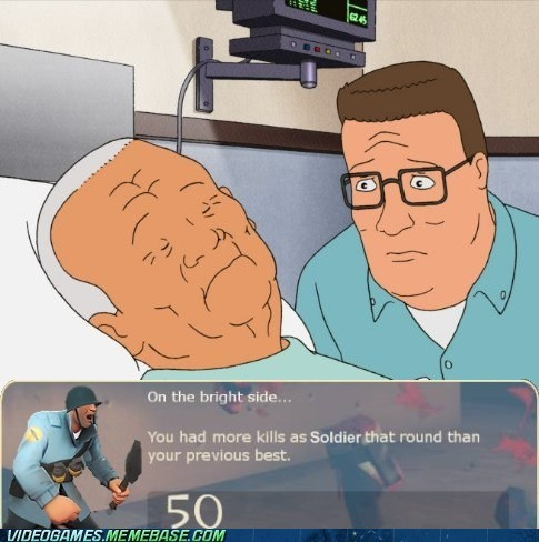 cotton King of the hill Sad soldier Team Fortress 2 the feels - 6198410496