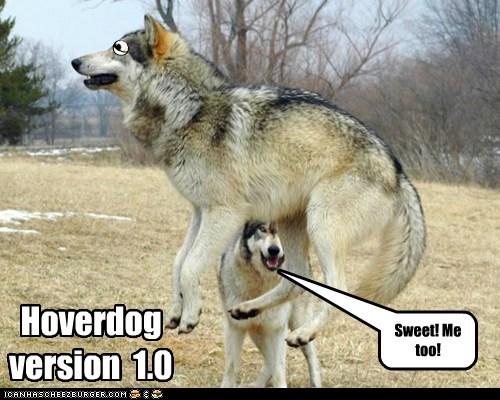 Hoverdog version 1.0 Sweet! Me too!