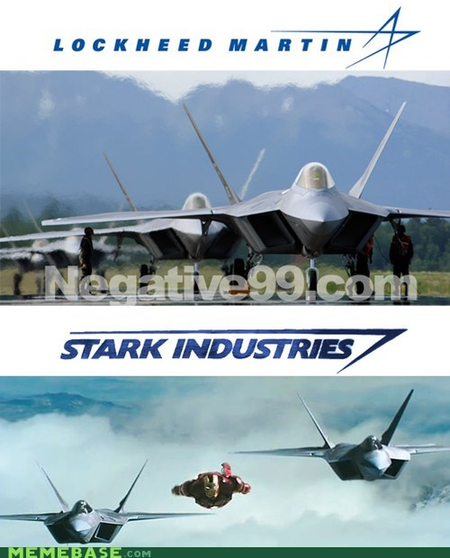 Lockheed Martin,iron man,jets,stark industries