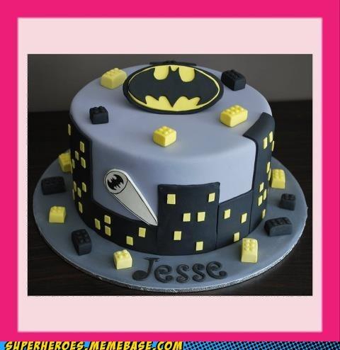 batman cake dessert Random Heroics - 6199890176