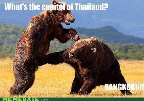 What's the capitol of Thailand?