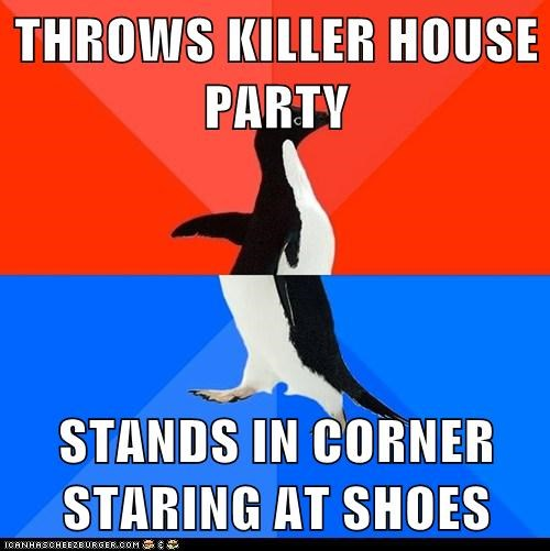 socially awkward socially awkward penguin - 6200753408