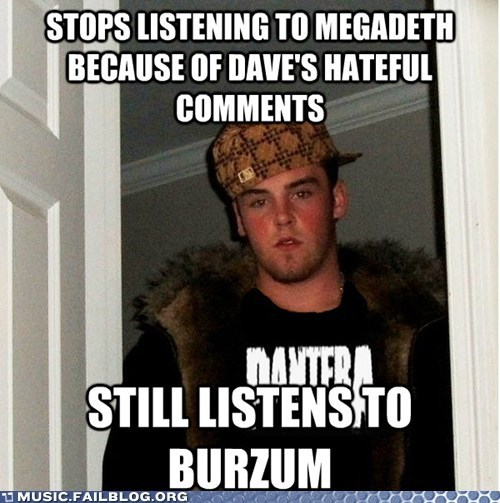 Scumbag Metalhead Doesn't See the Problem