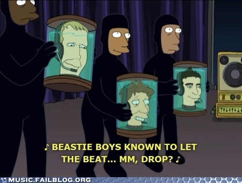 adam yauch,beastie boys,futurama,screencap