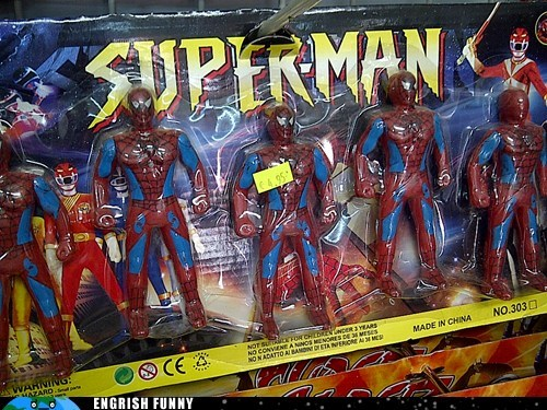 Spider-Man superman - 6201044480