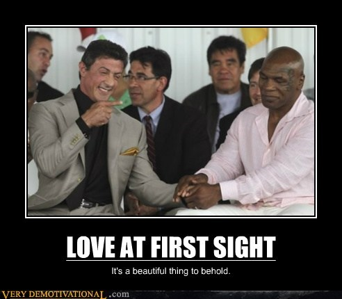 hilarious,love,mike tyson,Sylvester Stalone