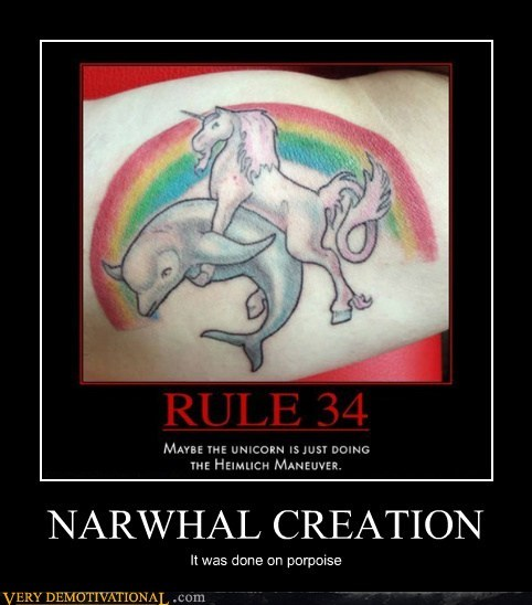 creation hilarious narwhal porpoise pun