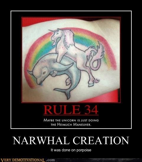 hilarious narwhal porpoise pun - 6201390336