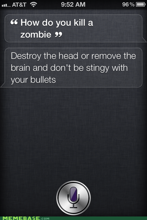 iphone,siri,zombie