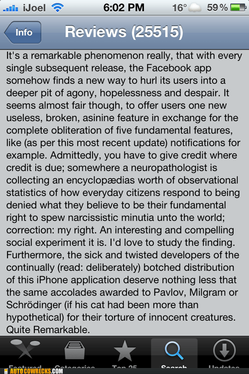 app reviews,apps,facebook