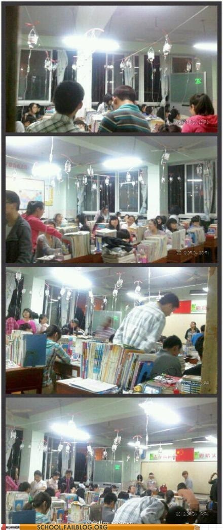 China entrance exams IV drips studying - 6202138880