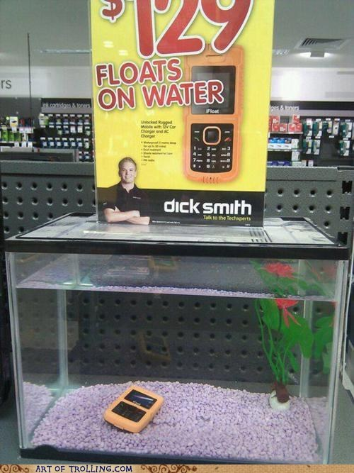 ads waterproof ad fail