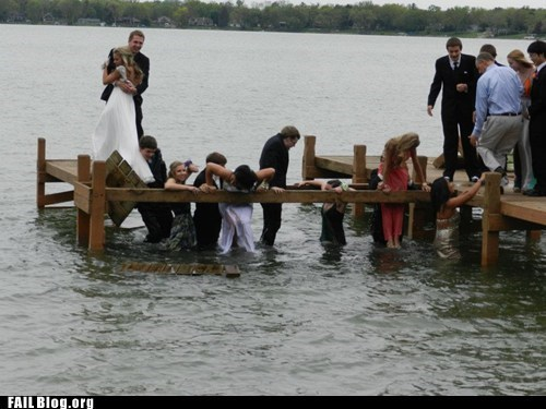 dock fail nation g rated Hall of Fame lake prom taking pictures wet