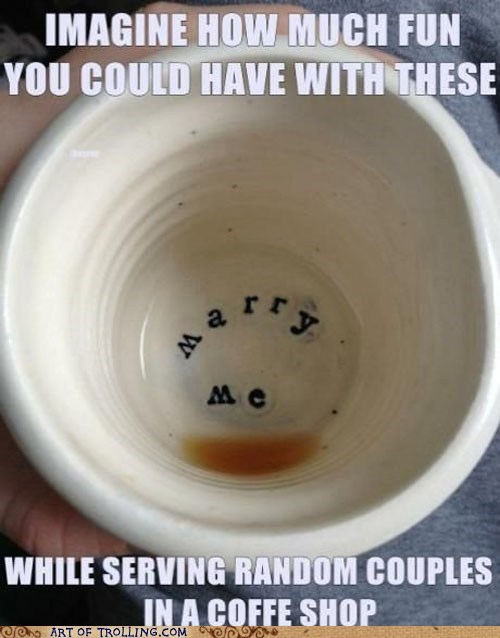 coffee,marriage,marry me