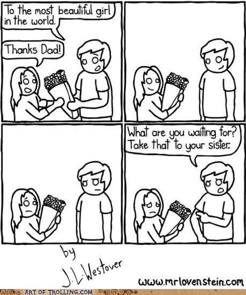 dad,parenting,sister