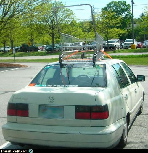 cart rack roof rack shopping cart volkswagen